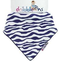 Dribble Ons Dribble Cloth - Funky Zebra Stripe Design