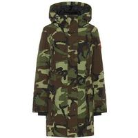 Kinley camouflage down parka