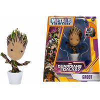 """Jada Metal Die Cast 4"""" Guardians of the Galaxy Groot Figure M153"""