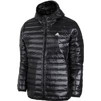 adidas - Varilite Hooded Down Jakke - Sort