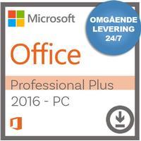 Microsoft Office Professional Plus 2016 til Windows - Nemsoftware - Modtag produktnøgle med det samme!