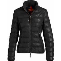 PARAJUMPERS JODIE LEATHER WOMEN JACKET | BLACK
