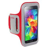 Shocksock Armband till Samsung Galaxy S5 - Röd