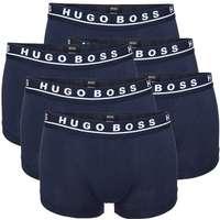 Hugo Boss 6-pak Cotton Stretch Boxers - Darkblue - Large   Kampagne   e88eb2d5b72d5