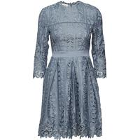 By Malina Ginger Dress - Dove Blue