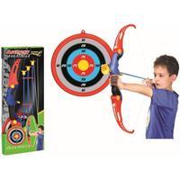 Bue sæt med bue, pile og skydeskive til børn - Sport1