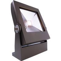 Power Spot VI COB 20 WW 20W LED Aufbaustrahler IP65 Flutlichtstrahler Grau 3000K