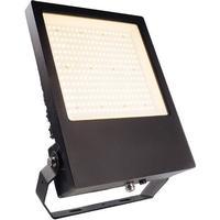 Atik 150W LED Aufbaustrahler IP65 Flutlichtstrahler schwarz