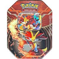 Pokemon delphox-ex collector tin box