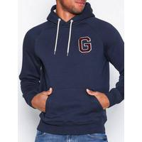 Gant Gift Giving Sweat Hoodie Tröjor Dark Blue
