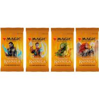 Magic: The Gathering - Guilds of Ravnica 4 x Booster (Bundle)