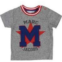 Little Marc Jacobs Baby Boucle M Patch T-Shirt