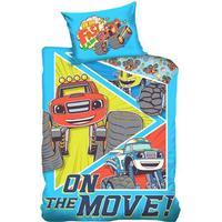 Blaze og Monstermaskinerne sengetøj junior, 100x135