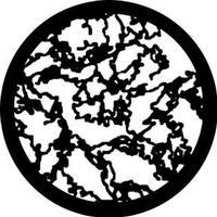 Rosco Gobo Rosco 78421 - Jagged Moonlight - Size B