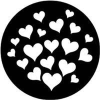 Rosco Gobo 79651 for ADJ Inno Spot Pro - Valentine