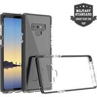 4smarts Airy-Shield Samsung Galaxy Note9 Cover - Sort / Gennemsigtig