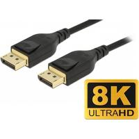 Delock DisplayPort 1.4 kabel - 8K - 60Hz - 3 m