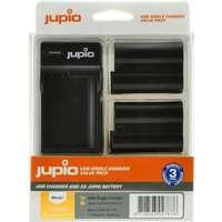 Jupio Batteripaket ersätter Nikon EN-EL15 (2 st Batterier+ USB-Laddare) 7769b1a975b32