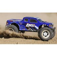 Losi TENACITY Monster Truck, Silver, AVC: 1/10 4WD RTR, Losi
