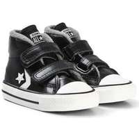 Converse Black Star Player 2V Baby Mid Sneakers Barnskor 19 (UK 3) d5d6ed9dab903