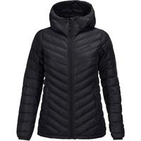 Peak Performance - Frost Down Hooded Jacket - Kvinder - Jakker - Sort - XS