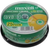 Maxell DVD-R 4.7GB 16x Spindle 25-Pack (275520)