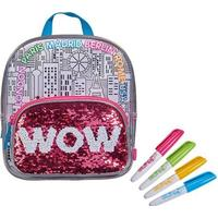 (99) Color Me Mine Swap Sequin Small Backpack