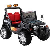 EL Børne Adventure Jeep 12V m/2.4G + 10AH + Gummihjul