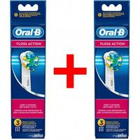 6 stk. Oral-B FlossAction Tandbørstehoveder