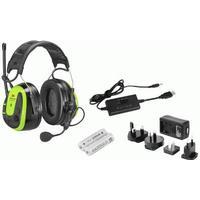 Peltor WS Alert XPI Hörselkåpa hjässbygel ACK Hi-Vis