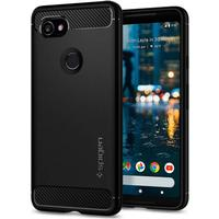 Spigen Rugged Armor cover til Google Pixel 2 XL - Sort