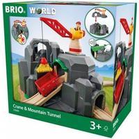 Brio Crane & Mountain Tunnel 33889