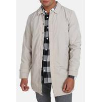 Fat Moose Trench Tech Coat - Grey