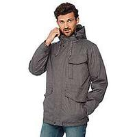 Mantaray Big and tall grey shower resistant 3-in-1 jacket