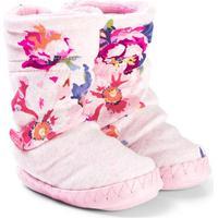 Joules Padabout Futter Pink Marl/Granny FloralM 30-32 (UK 11-13)