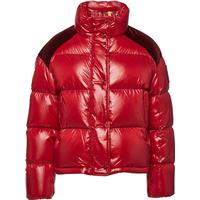 Moncler Chouette Quilted Down Jacket with Cotton