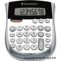 Texas Instruments Lommeregner Texas TI 1795SV 8 cifret display-skråtstillet