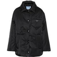 Nylon gabardine coat