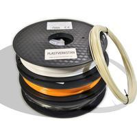 PLASTVERKSTAN PLA Mini Mix GlowInTheDark, Orange, Svart och Vit 1.75mm