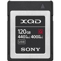 Sony Xqd Card G Series 120GB 120GB XQD Memory Card (QDG120F)