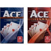 Ace - Poker-kortlek Röd