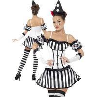 Smiffys Clown Diva Maskeraddräkt - Medium