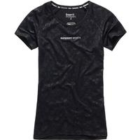Superdry Core Gym T-shirt - Black Camo