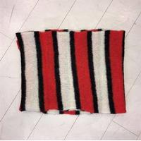 Becksöndergaard tørklæde - Gloria Stripes, Red Love
