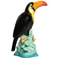 Ceramic Toucan Statue