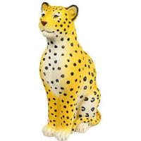 Leopard Money Box - Yellow