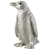 Penguin Money Box - Silver