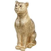 Leopard Money Box - Gold