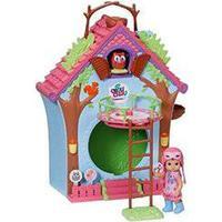 Zapf Creation 920077 - Mini Chou Chou Kuckucksuhr-Haus Puppe