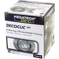 Megatron Indbygningslys LED Megatron GU10 Jern (børstet)